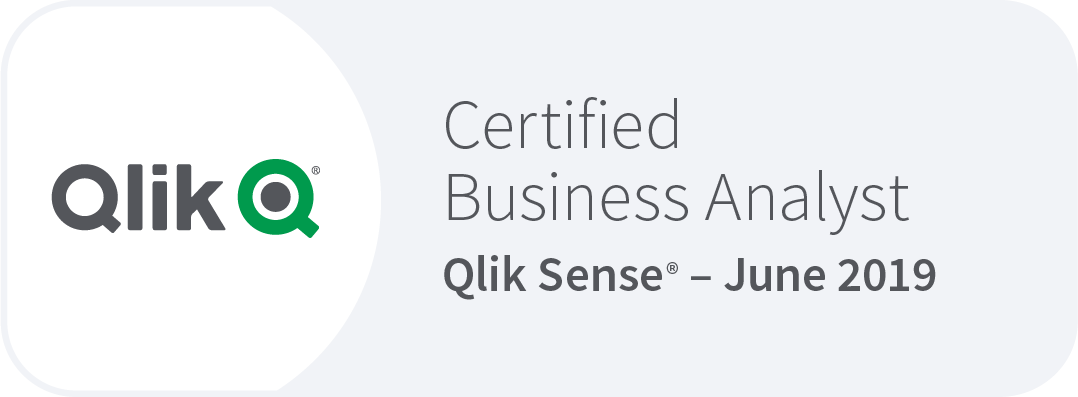 Qlik Sense certified Business Analyst